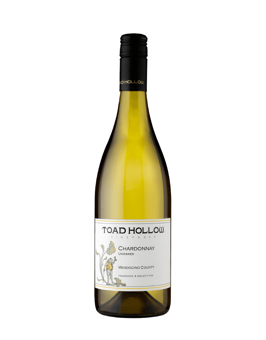 Toad Hollow Chardonnay bottle