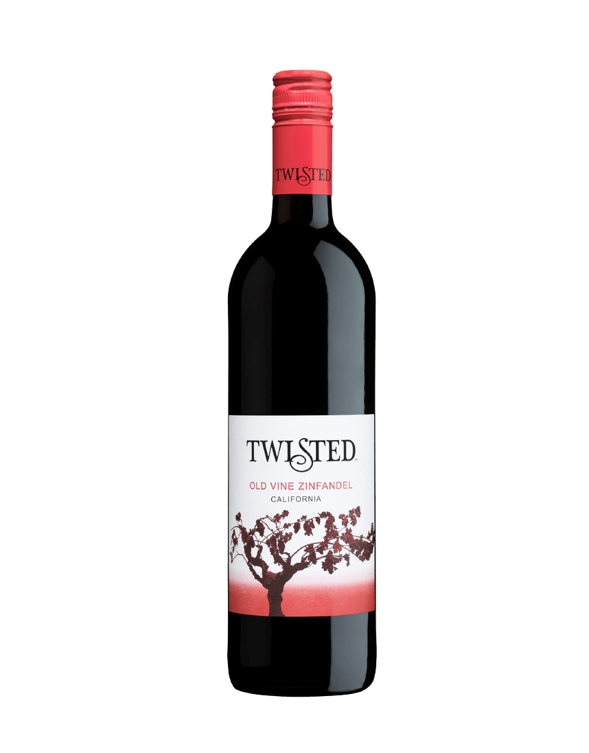 Twisted Zinfandel bottle