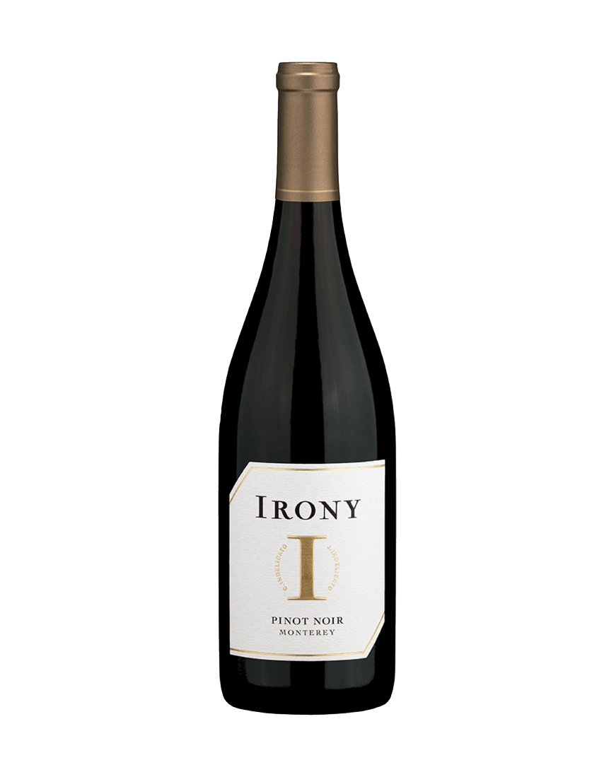 Irony Pinot Noir bottle