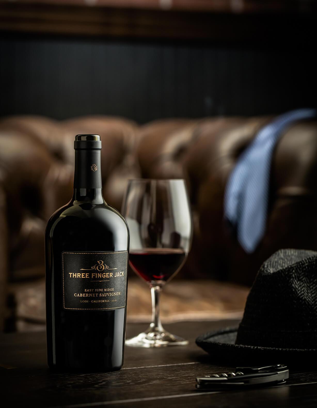 Delicato Family Wines Launches Three Finger Jack East Side Ridge Cabernet Sauvignon