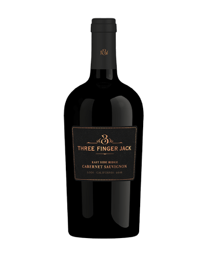Three Finger Jack Cabernet Bottle