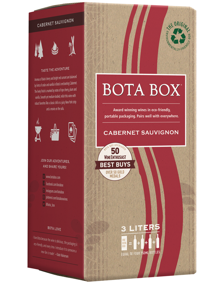 Bota Box eco-friendly package