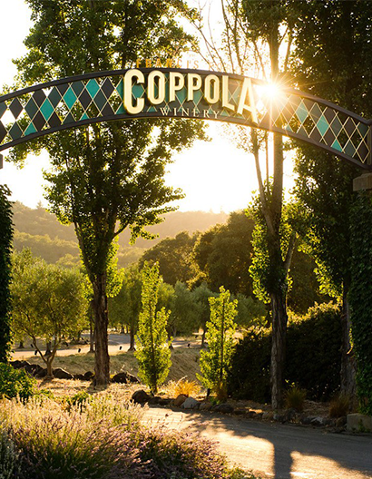 Gates of Francis Ford Coppola Winery